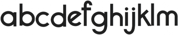 Chamonix Regular otf (400) Font LOWERCASE