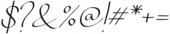 Chandrawinata Italic otf (400) Font OTHER CHARS