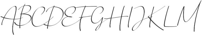 Chandrawinata Italic otf (400) Font UPPERCASE
