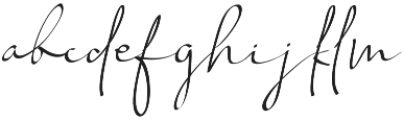 Chandrawinata Italic otf (400) Font LOWERCASE