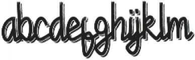 Chandry Vintage ttf (400) Font LOWERCASE