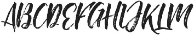 Change Brush Regular otf (400) Font UPPERCASE