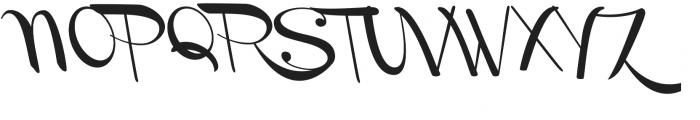 Channel Left-Slanted otf (400) Font UPPERCASE