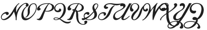 Chapel Script otf (400) Font UPPERCASE