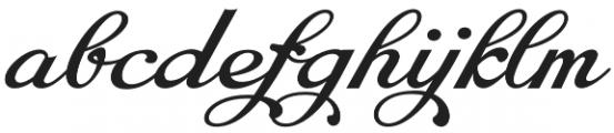 Chapel Script otf (400) Font LOWERCASE