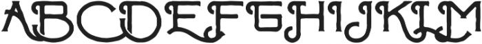 ChapterOne Rough otf (400) Font UPPERCASE
