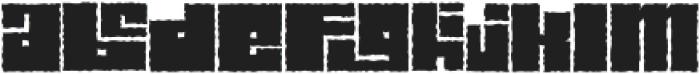 Characteristic otf (400) Font LOWERCASE