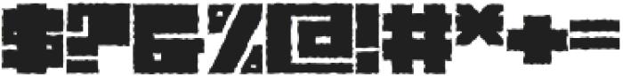Characteristic ttf (400) Font OTHER CHARS