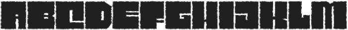 Characteristic ttf (400) Font UPPERCASE
