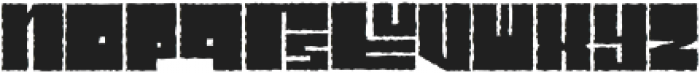 Characteristic ttf (400) Font LOWERCASE