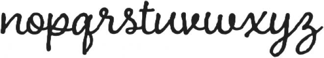 Charcuterie Cursive otf (400) Font LOWERCASE