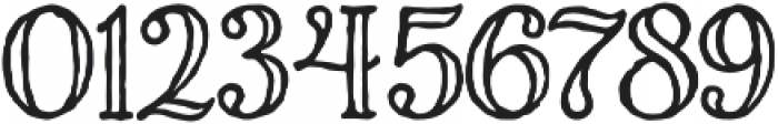 Charcuterie Engraved otf (400) Font OTHER CHARS