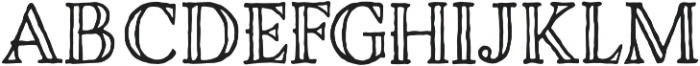 Charcuterie Engraved otf (400) Font UPPERCASE