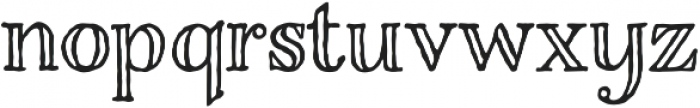 Charcuterie Engraved otf (400) Font LOWERCASE