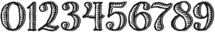 Charcuterie Etched otf (400) Font OTHER CHARS