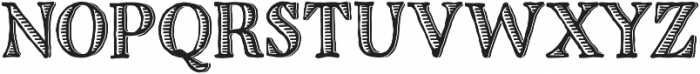 Charcuterie Etched otf (400) Font UPPERCASE
