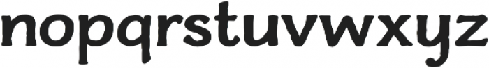 Charcuterie Flared otf (700) Font LOWERCASE