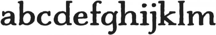 Charcuterie Serif otf (700) Font LOWERCASE
