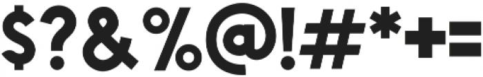 Chardy Bold otf (700) Font OTHER CHARS