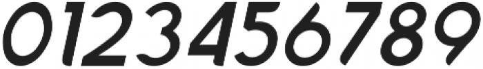 Chardy Medium Slanted otf (500) Font OTHER CHARS