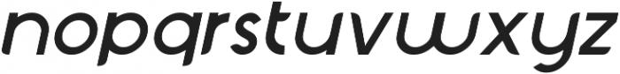 Chardy Medium Slanted otf (500) Font LOWERCASE