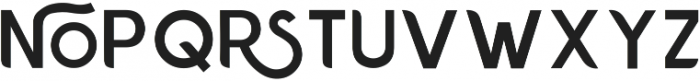Chardy Medium otf (500) Font UPPERCASE