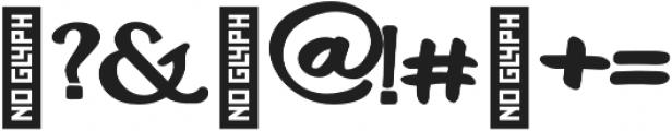 Charles Swarel otf (400) Font OTHER CHARS