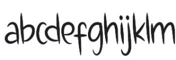 Charletty otf (400) Font LOWERCASE