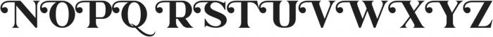 Charlotte William Serif otf (400) Font UPPERCASE