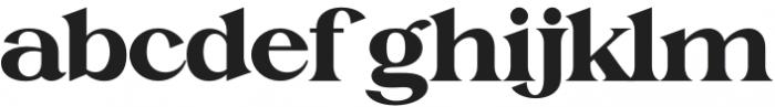 Charlotte William Serif otf (400) Font LOWERCASE