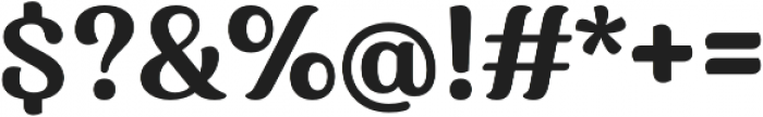 Charm otf (700) Font OTHER CHARS