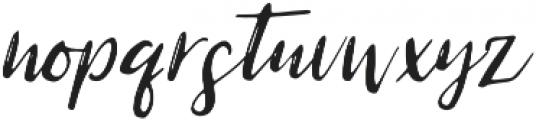 Charmel otf (400) Font LOWERCASE