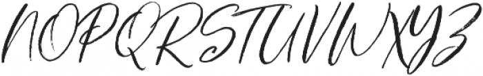 Charming Mountain otf (400) Font UPPERCASE