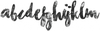 Chasing Embers One otf (400) Font LOWERCASE