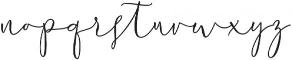 Chastom  Regular otf (400) Font LOWERCASE