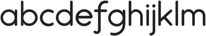 Chathing otf (100) Font LOWERCASE