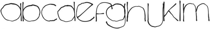 Chavenir Lower Case ttf (400) Font UPPERCASE
