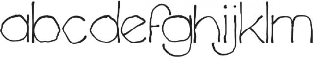Chavenir Lower Case ttf (400) Font LOWERCASE