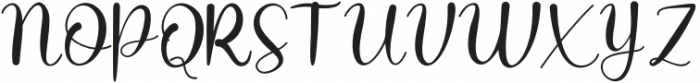 Chaybree otf (400) Font UPPERCASE