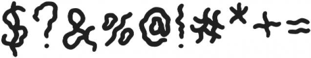 CheapThrills Regular otf (400) Font OTHER CHARS