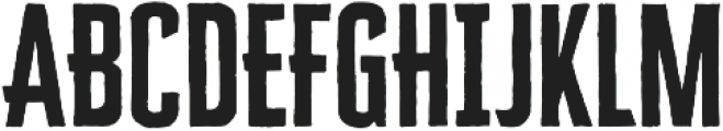 Cheddar Gothic Sans otf (400) Font UPPERCASE