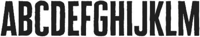 Cheddar Gothic Sans otf (400) Font LOWERCASE