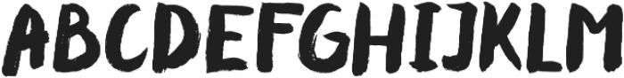 Cheeky otf (400) Font UPPERCASE