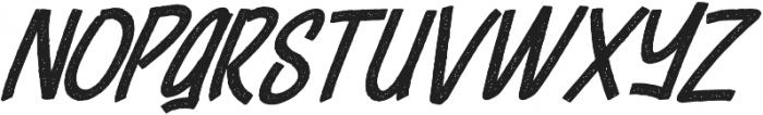 Cheeselatte Rust otf (400) Font UPPERCASE