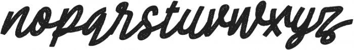Cheeselatte Rust otf (400) Font LOWERCASE