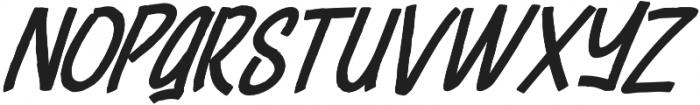 Cheeselatte otf (400) Font UPPERCASE