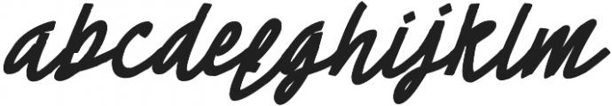 Cheeselatte otf (400) Font LOWERCASE