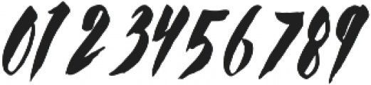 Chellomitha Brush ttf (400) Font OTHER CHARS
