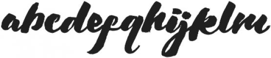Chellomitha Brush ttf (400) Font LOWERCASE