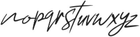 Chelsea Queen otf (400) Font LOWERCASE